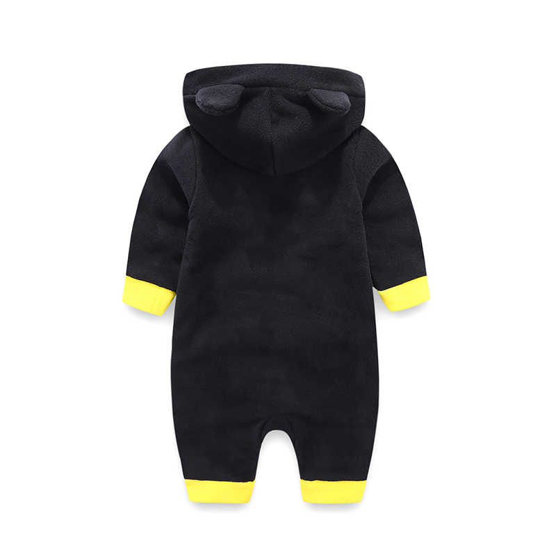 0-18 Months,SO-buts Newborn Toddler Baby Boys Girls Halloween Cosplay Costume Romper Bat Bodysuit+Hat Outfits Winter Clothes Long Sleeve Jumpsuit
