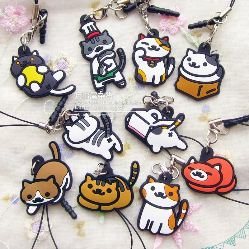 07195f93bddb 4pcs set Japanese Neko Atsume Game Heart Cat Police Cat Enamel Pin ...