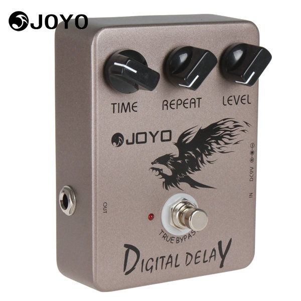 Joyo JF-08 True Bypass Digital Delay Guitar / Bass Effect Pedal Box 9V Battery Musical Instrument Electric Guitar Accessories mooer ensemble queen bass chorus effect pedal mini guitar effects true bypass with free connector and footswitch topper