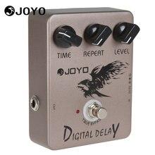 Joyo JF-08 True Bypass Digital Delay Guitar / Bass Effect Pedal Box 9V Battery Musical Instrument Electric Guitar Accessories