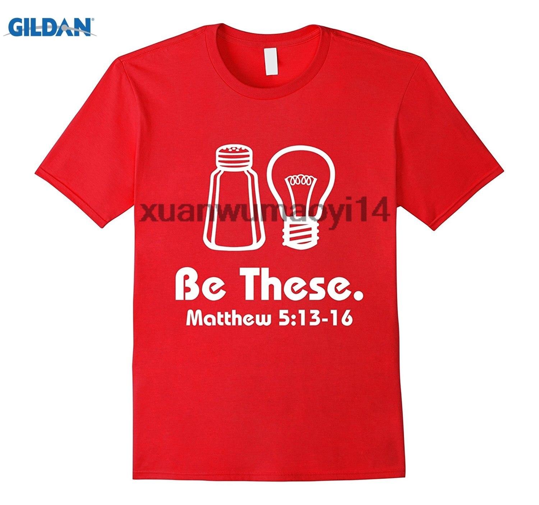 Возьмите быть эти соль и Свет христианской Matthew 513-16 Футболки для женщин
