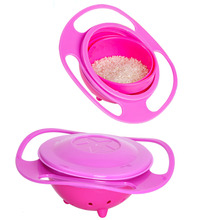 Baby-Kid-Gyro-Food-Bowl-Dishes-360-Rotate-Spill-Proof-Bowl-Dishes-1Pcs Baby-Kid-Gyro-Food-Bowl-Dishes-360-Rotate-Spill-Proof-B