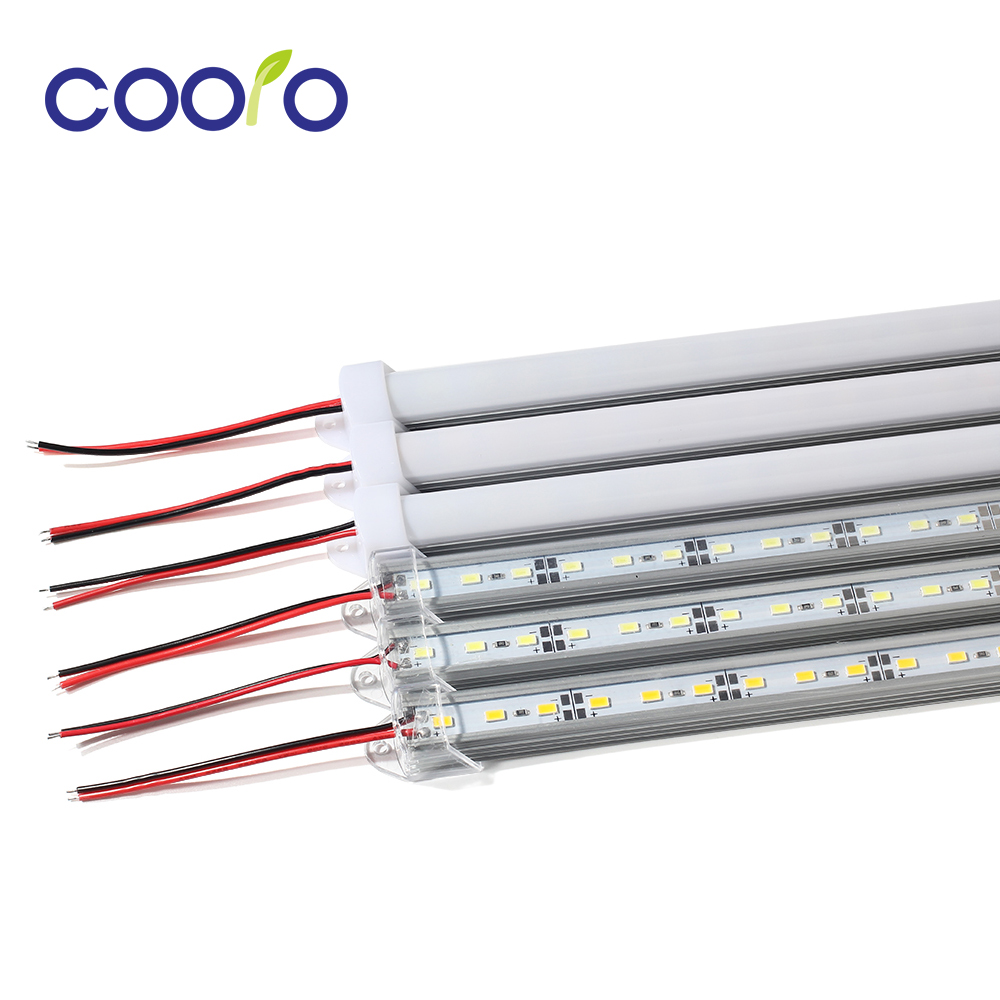 5pcs/lot DC12V SMD 5630  LED Bar Light LED Hard Light 5630 With PC Cover,36Led 0.5m,cold White/white/warm White/R/G/B
