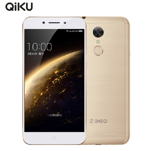 "2017 Original Qiku 360 N5 Mobile Phone 5.5"" 6GB RAM 32/64GB ROM Snapdragon 653 Octa Core 13.0MP Android 6.0 4000mAh Smartphone"