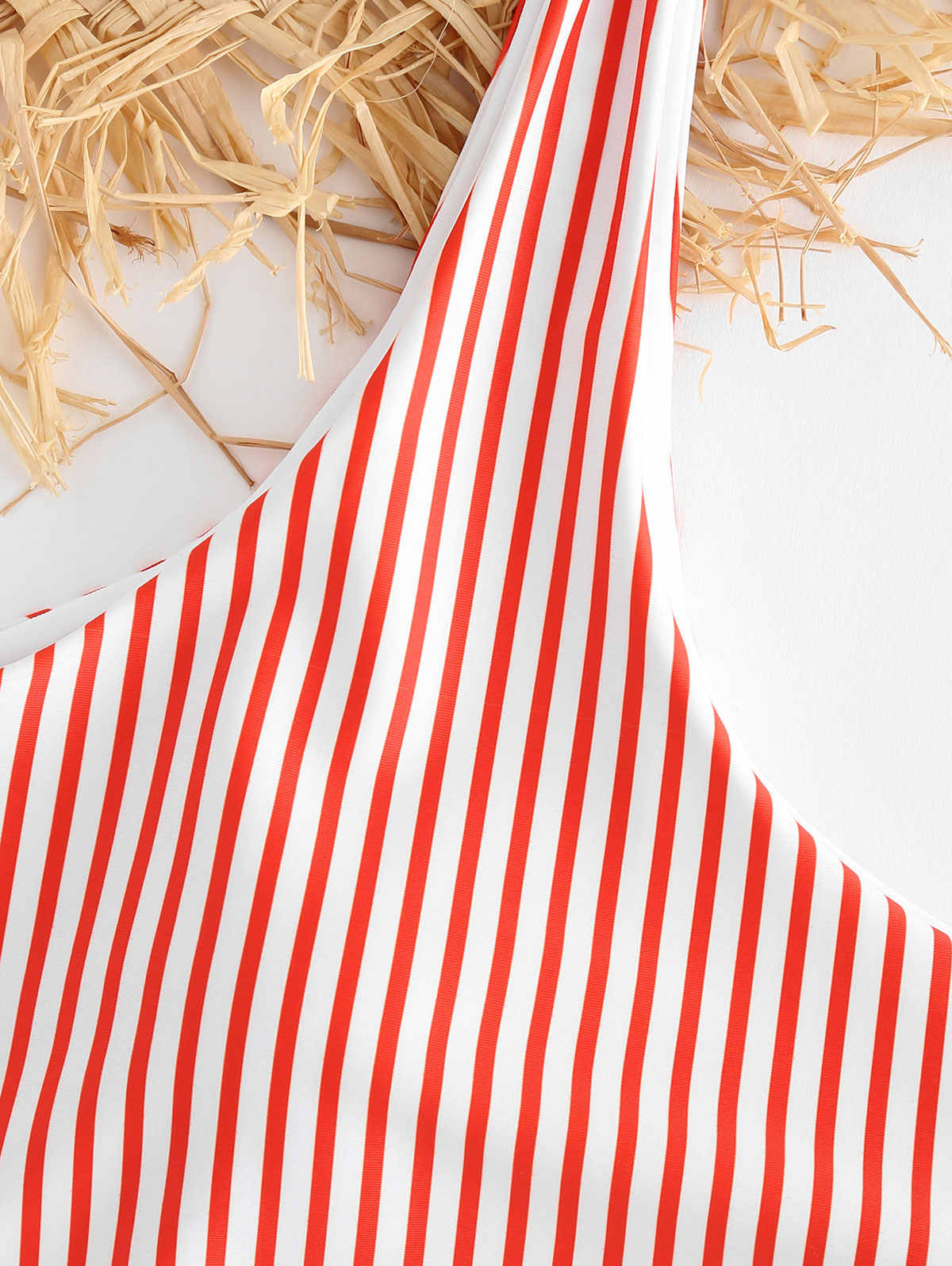 ZAFUL kolorowe paski Bikini z wysokim stanem 2019 Bowknot Bandeau Bikini wysokiej nogi stroje kąpielowe kobiety Bikini wysoko wycięte Push Up Biquini