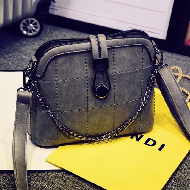 Crossbody bag 2016 Women brief shell shoulder bag fashion vintage bags small handbag messenger bag
