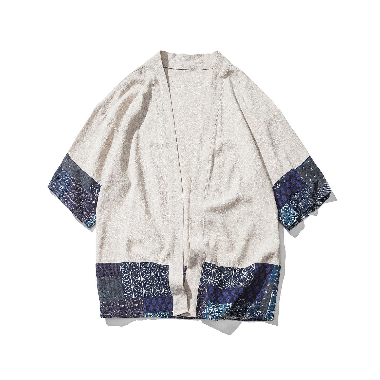 Drop Shipping Cotton Linen Shirt Jackets Men Chinese Streetwear Kimono Shirt Coat Men Linen Cardigan Jackets Drop Shipping Cotton Linen Shirt Jackets Men Chinese Streetwear Kimono Shirt Coat Men Linen Cardigan Jackets Coat Plus Size 5XL