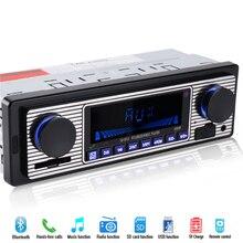 1 din Reproductor de Radio Del Coche Del Bluetooth Estéreo 12 V FM MP3 Reproductor de Audio del coche AUX USB SD Electrónica Automotriz Automóviles autoradio en el tablero