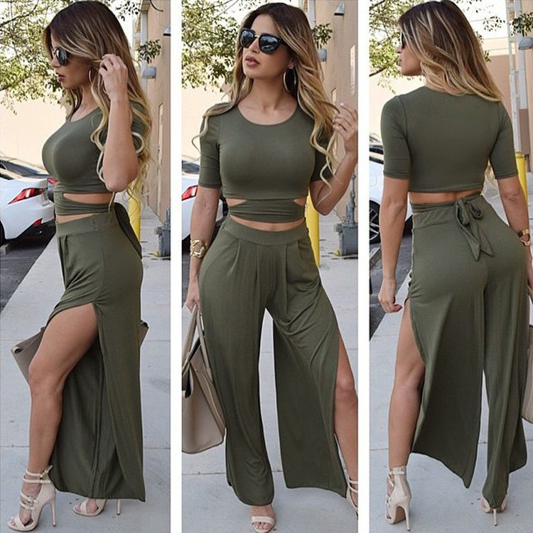 Women Army Green Pants - ShopStyle