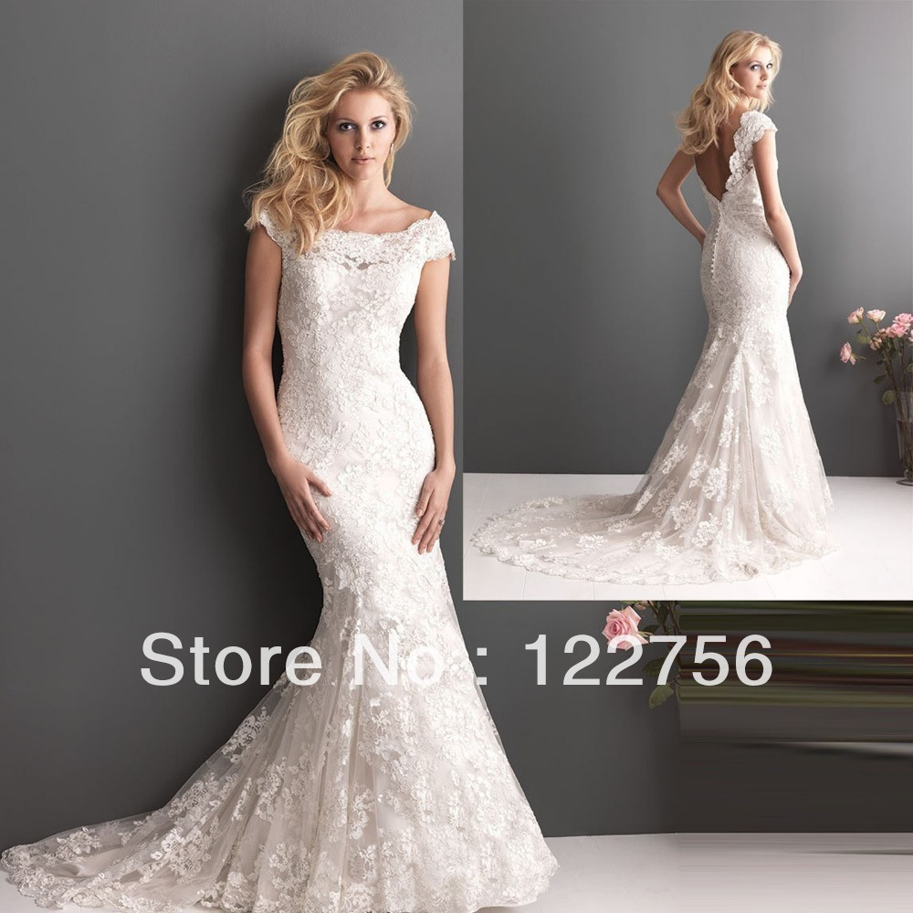Wedding Dress Lace Up Kit : New white ivory lace cap sleeve dress formal occasions