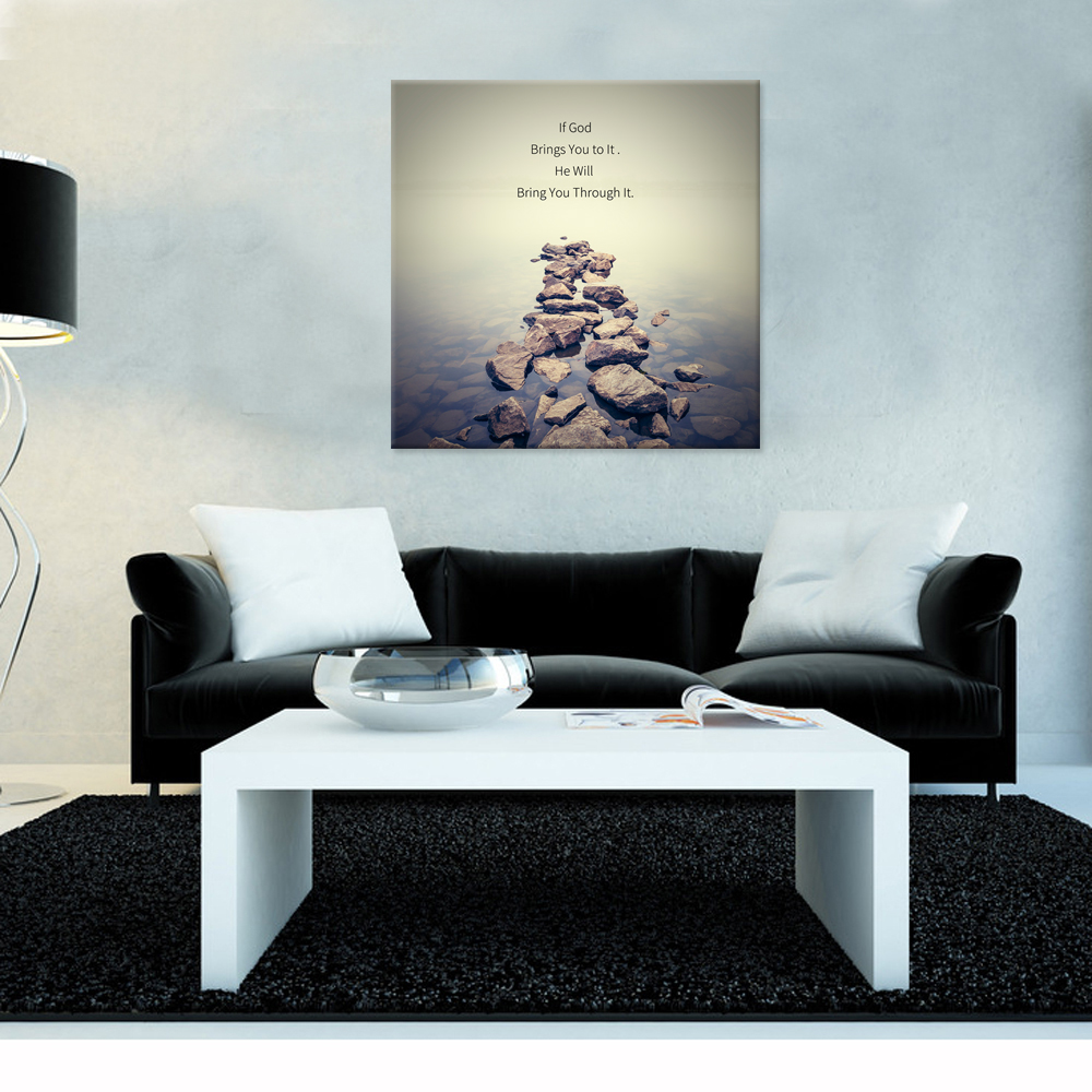 christian quotes series canvas wall art gods family fashion