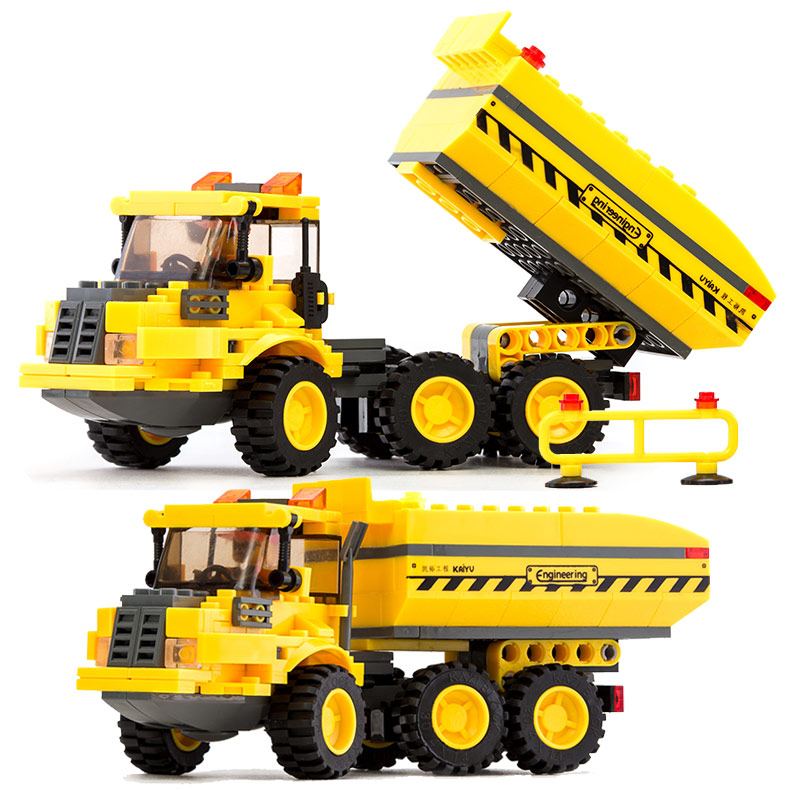 Kazi 191PCS Engineering Truck Car 8043 Building Blocks Bricks Construction Enlighten Toys For Children GiftKazi 191PCS Engineering Truck Car 8043 Building Blocks Bricks Construction Enlighten Toys For Children Gift