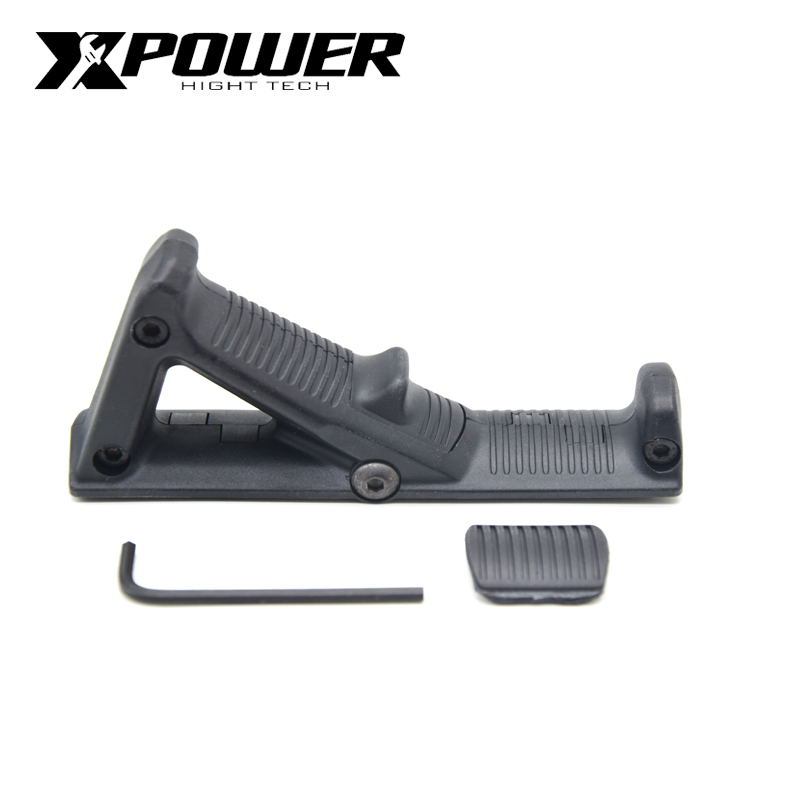 XPOWER AFG Handle Grip For Paintball AEG Pistol Air Guns Airsoft Accessories Gel Blaster Gen8 JM9 Wells M4-in Paintball Accessories from Sports & Entertainment