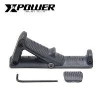 XPOWER AFG uchwyt rękojeści do Paintball AEG pistolet wiatrówki Airsoft akcesoria żel Blaster Gen8 JM9 Wells M4