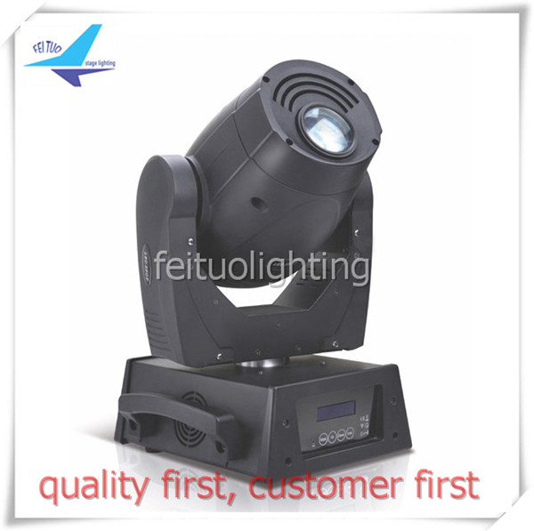 free shipping 2Xlot Super Bright Spot Light 120W LED Moving Head Gobo 3 Prism DMX Sound Active DJ Stage Party Club Show Lighting