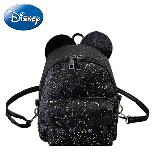 Disney Kids Backpack Mickey Mouse Shape New