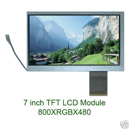 60PIN7 inch color digital LCD screen HSD070IDW1-A20/A30