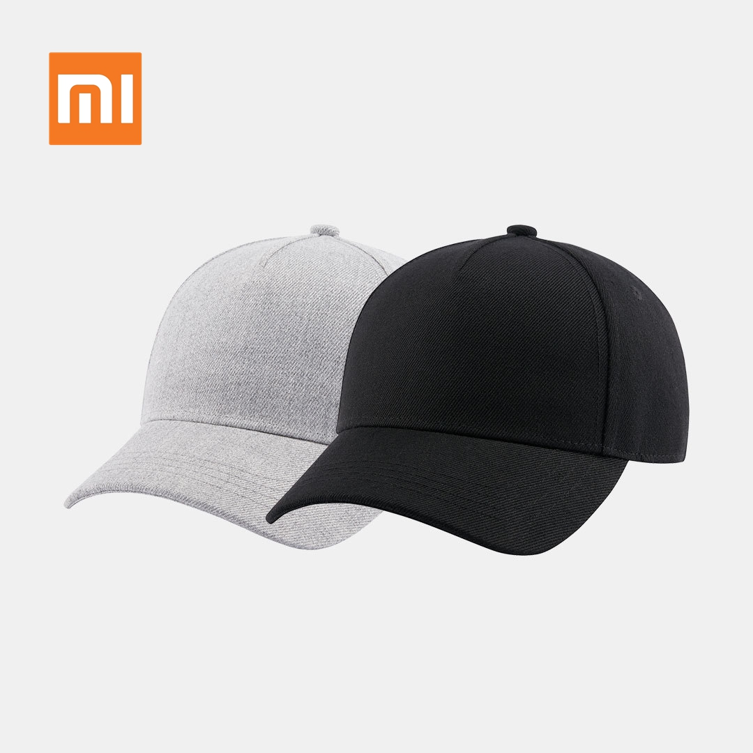 Original Xiaomi Baseball Cap Cool Fashion Unisex Popular Design Sweat Absorption Reflective Snapback Hip Hop For Men And Women