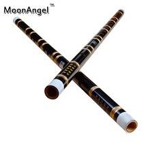 Chinesischen Bambusflöte Dizi Traditionellen Handgemachten Quer Bläser Bambu Flauta Musikinstrument EFG Schlüssel