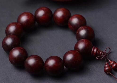 free shipping Venus Lobular red sandalwood 20 mm Bracelet Lovers fashion High-end Ornaments недорго, оригинальная цена