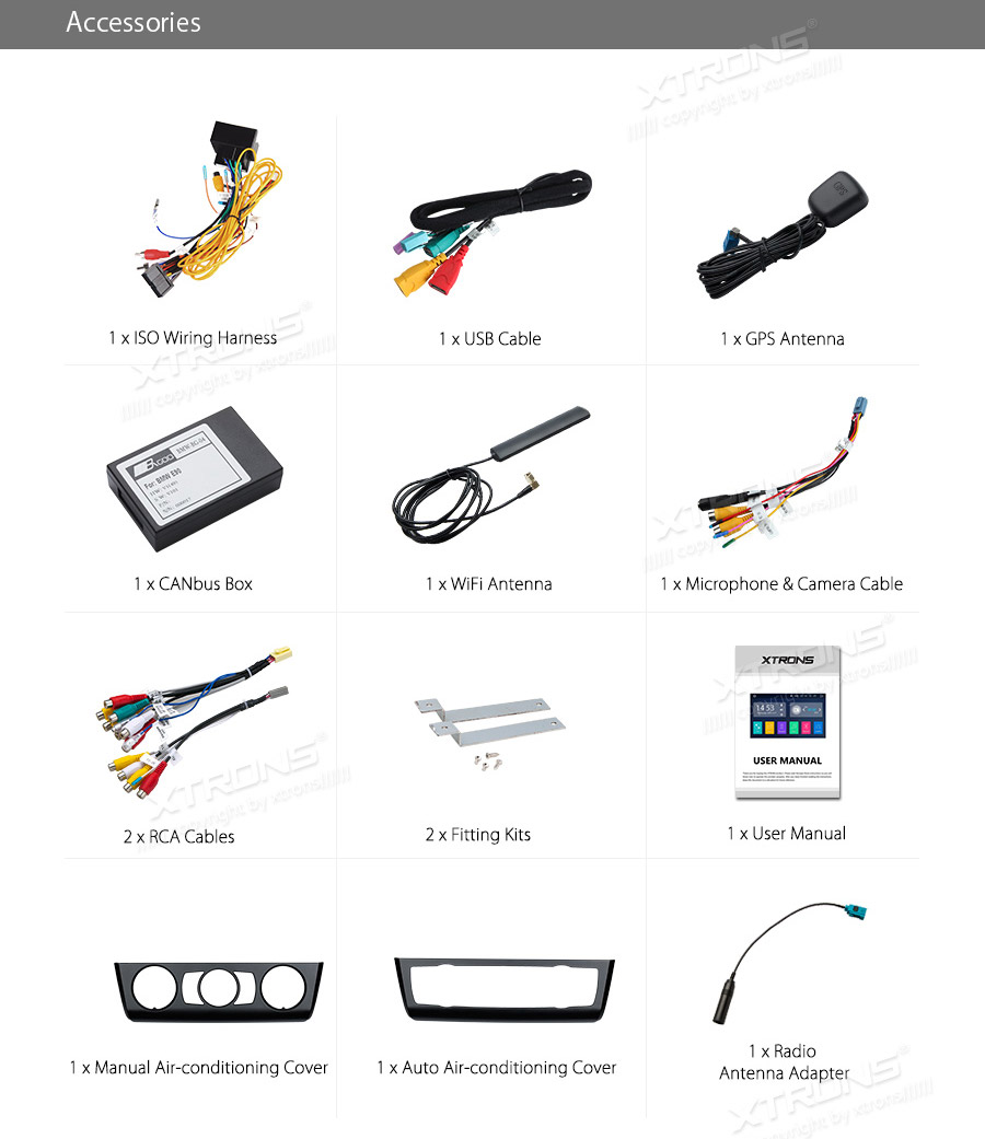 Xtrons Radio Android 81 Car Dvd Player Gps Rca Obd Dab Wifi For Bmw Vauxhall Can Bus Wiring Helps You Record Your Journey On The Road 6keyboard Makes Input Of Information This Stereo Easily 73g4g Browse Internet With 3g 4g