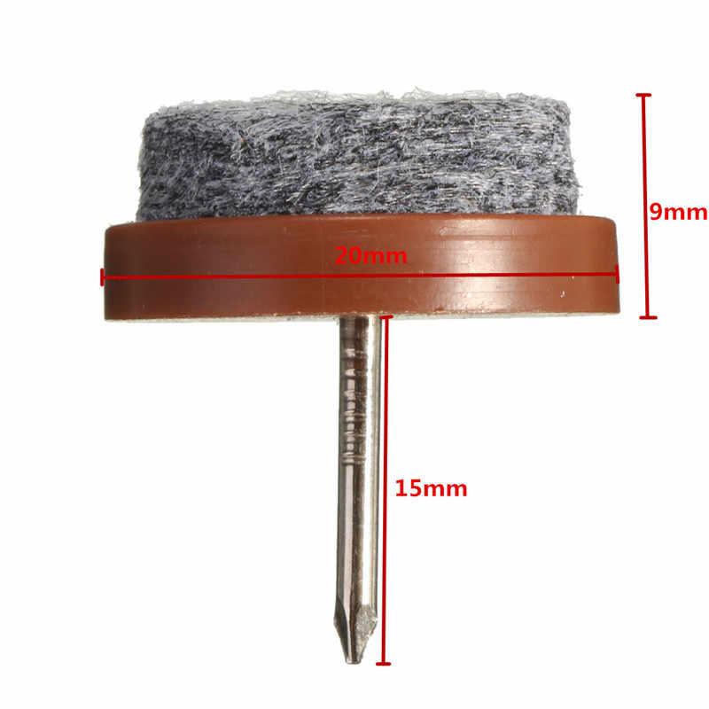 8 pçs/lote Alta Qualidade Tabela Cadeira Pés Pernas Skid Telha Feltro Desliza Chão DIY Nail Protector Móveis Cadeira Tabelas perna