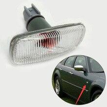 MZORANGE Car Styling Car Side Turn Signal Front Fender Light Side Lamp For Chrysler 300C dodge Charger Avenger Jeep patriot