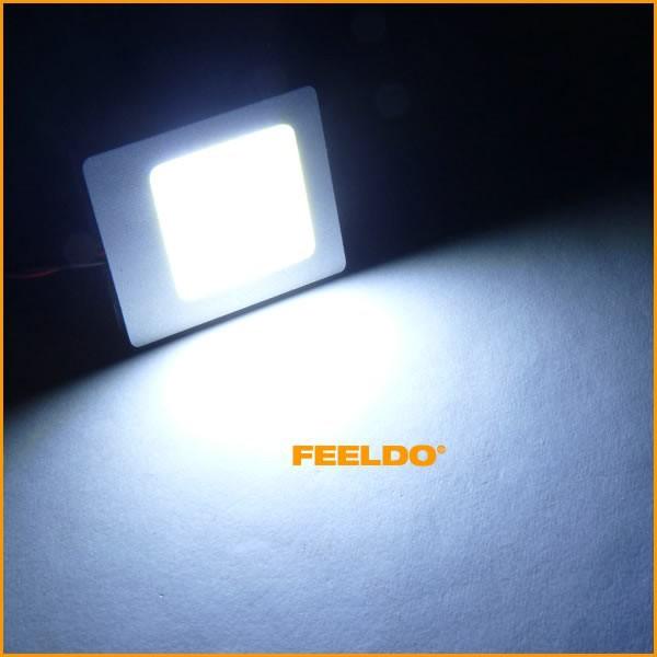 100 шт. 6 вт белый цвет початок купол гирлянда лампа светодиодная панель с Т10/о ba9s адаптер # ФД-3281