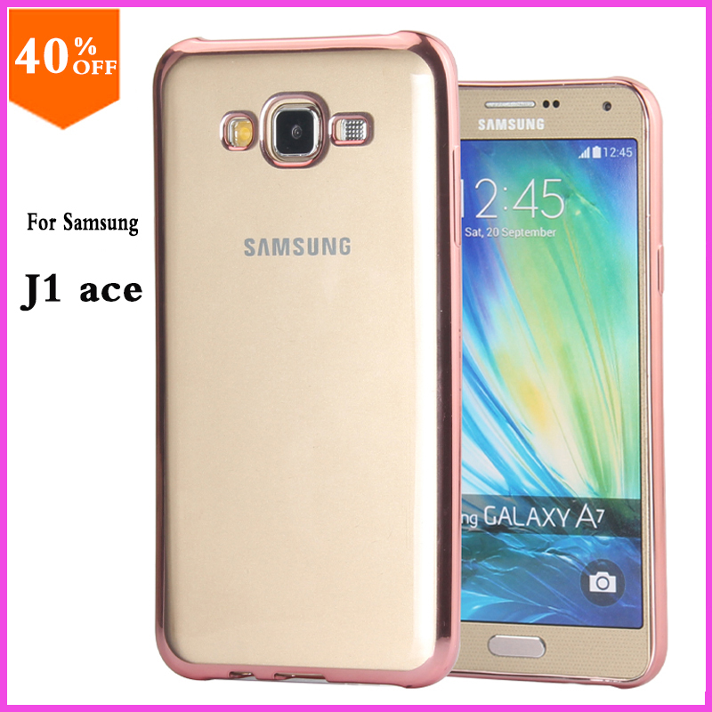Original Case For Samsung Galaxy J1 J 1 ace Case to Phone Transparent Luxury Brand Clear Cover