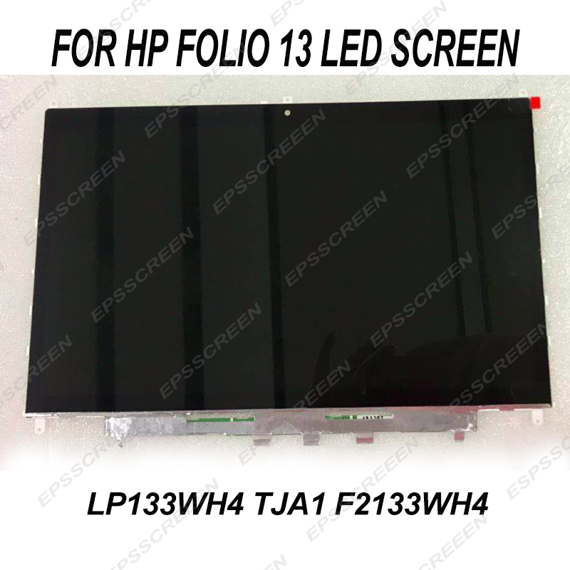 NEW replacement LCD LED DISPLAY 13 3 for HP folio 13 LP133WH4 TJA1 f2133wh4 MATRIX SCREEN