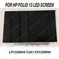 NEUE ersatz LCD LED DISPLAY 13,3 für HP folio 13 LP133WH4-TJA1 f2133wh4 MATRIX BILDSCHIRM HD PANEL