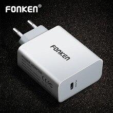USB зарядное устройство типа C 45 вт PD, настенный адаптер для быстрой зарядки ноутбука 15 в 3 а, складная вилка типа C для сша, мобильный телефон, портативное дорожное зарядное устройство