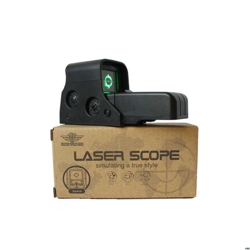 New Green Dot Pistola de Água Ponto Aim Vista Para Nerf Blasters Série Jinming8 Acessórios