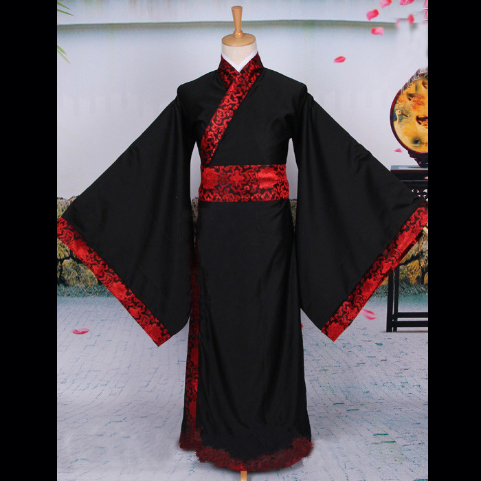 New 2015  ancient chinese satin robe for men hanfu costumes dynasty costume dance performance stage performance outfit 8 color