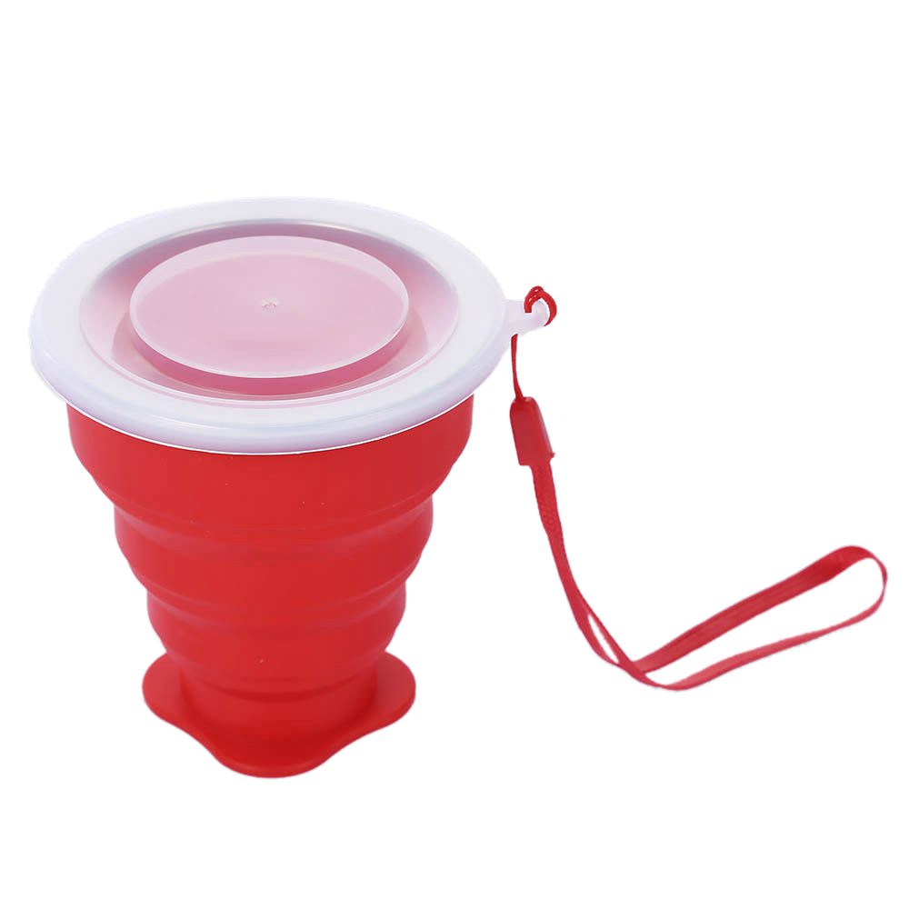 HOT SALE New Portable Silicone Telescopic Drinking Collapsible Folding Cup Travel Camping