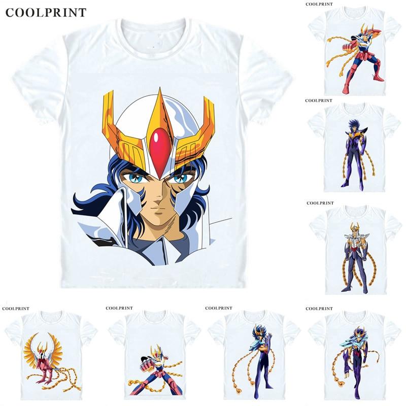Phoenix Ikki Fenikkusu No Ikki T Shirt Saint Seiya Knights Of The Zodiac Men Casual TShirt Premium T-Shirt Short Sleeve Shirts