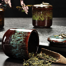 Butihome Ceramic Canister Spice Jar Good Sealing Performance Products For The Kitchen Food Container All Kinds Of Tea The Art Of