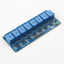 5V 8 Channel Relay Shield Module For Arduino 8051 AVR PIC  DSP ARM SunFounder
