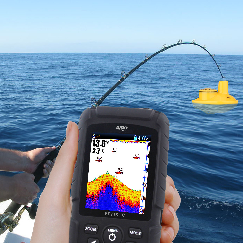 aliexpress : buy 100% original lucky ff718lic wireless, Fish Finder