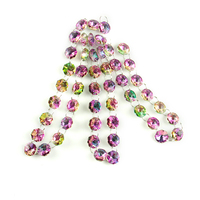 Colorful Crystal Octagon Garland Strands chains 5m Chandelier Part Wedding Garland Chains For Curtain Window Adornment