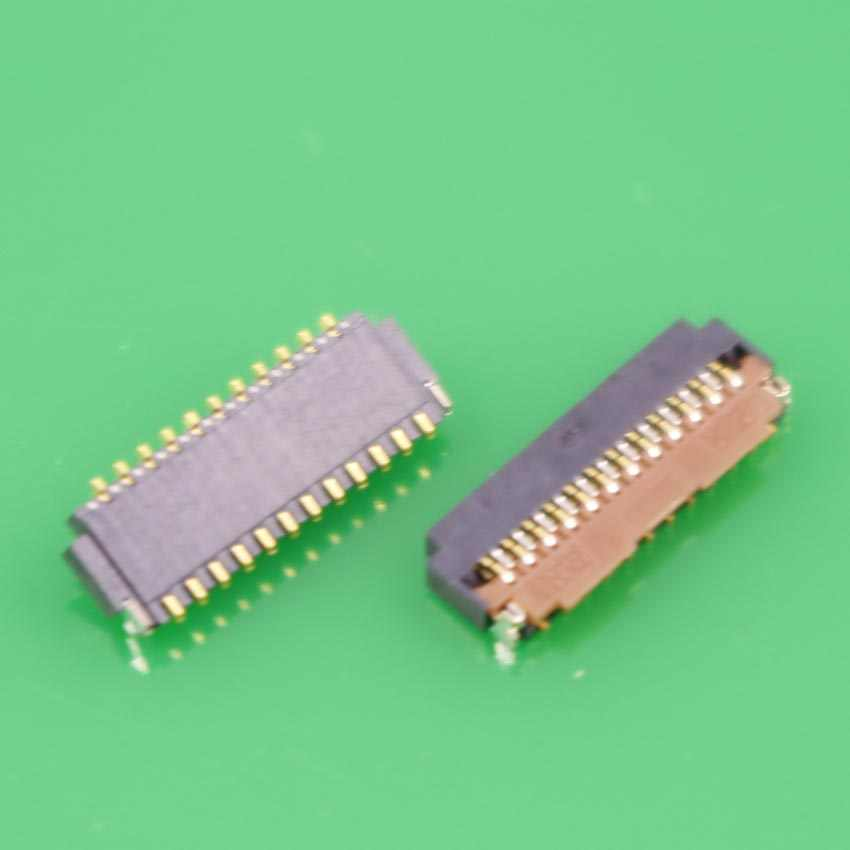 YuXi New LCD Display screen FPC connector for HTC Sensation XE G11 MY TOUCH 4G G13 G14 G18 G20 logic On motterboard 23 pin