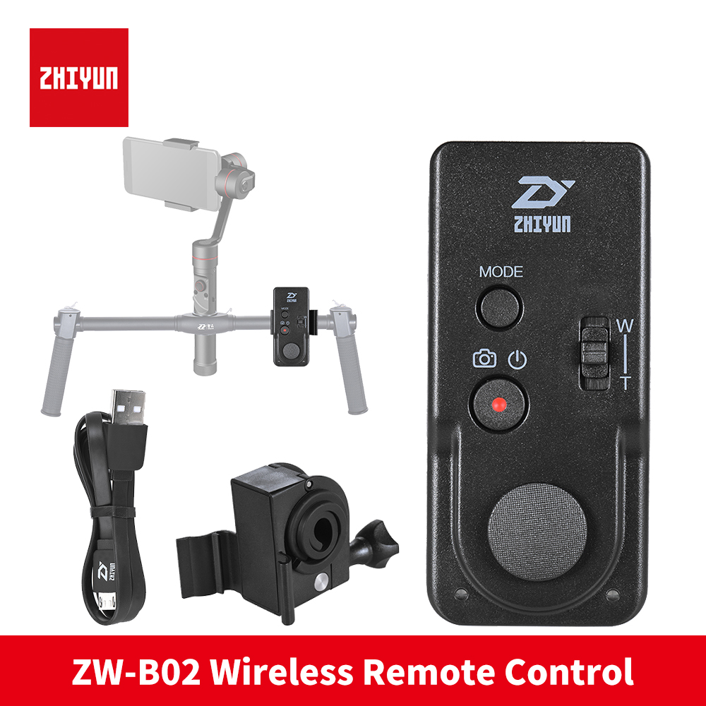 zhi yun Zhiyun ZWB02/01 Remote Wireless Controller for Crane/Crane2/CraneM/Smooth3/SmoothQ Camera Handheld axis Gimbal цена 2017