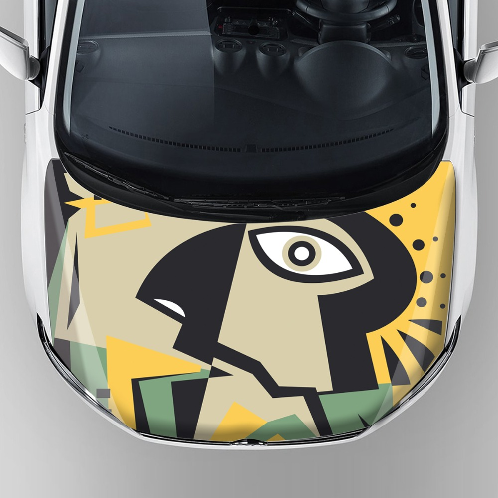 Car sticker maker in the philippines - China Factory Price Car Body Protection Wrap Sticker Custom Car Hood Bonnet Vinyl Decals Self Adhesive