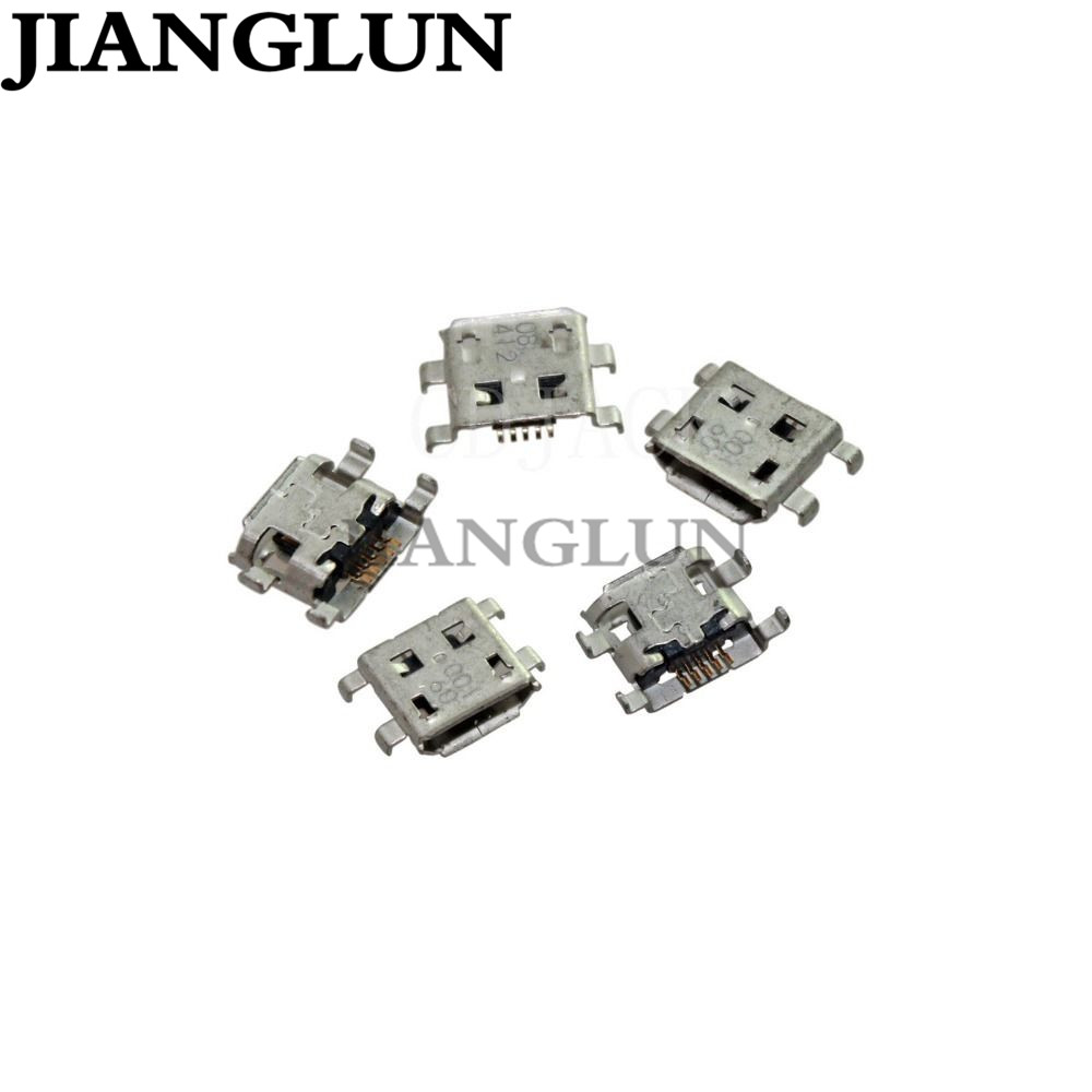 JIANGLUN New Micro USB Charging Port Jack Connector For