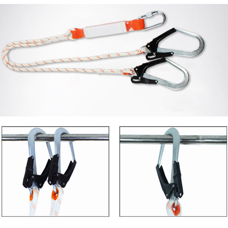 Safety Harness Five-point Type Systemic Safety belt with Double hook High-altitude operations Fall prevention Protect equipment