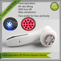 Electroporation Mesotherpy RF No Needle Anti Aging Face Lift And Body Skin Firming Tighten Beauty Machine