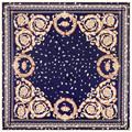 100 см * 100 см Шелковой Саржи Женщин 100% Шелковый Цветочный Узор Лепесток Листьев Высокое Качество Шарф Мусульманский Хиджаб 6116