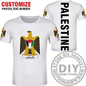Image 5 - פלסטין t חולצה diy משלוח תפור לפי מידה שם מספר palaestina חולצה PLE האומה דגל טייט palestina מכללת הדפסת לוגו בגדים