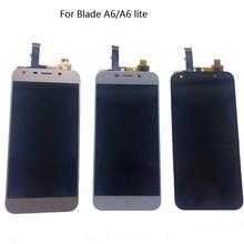 جديد LCD ل zte بليد A6 A6 لايت A0620 A0622 شاشة الكريستال السائل محول الأرقام الجمعية الهاتف المحمول إصلاح أجزاء