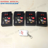 AM01R 4 remote control 4 channel 8 cue receivers stage effects wedding fire machine